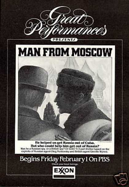 Man From Moscow Russian UK Agents PBS Film (1985)