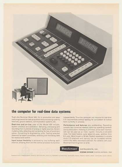 Beckman Model 420 Real-Time Computer (1964)