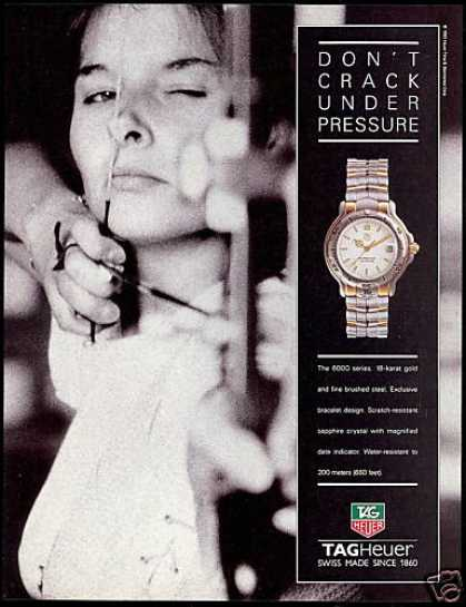 Tag-Heuer Tagheuer Watch Archer Archery (1992)