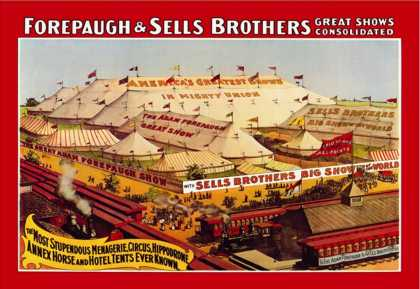Forepaugh and Sells Brothers Great Show Consolidated