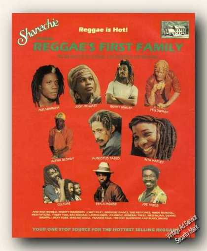 Reggae Star Photos (10) Music Promo (1988)