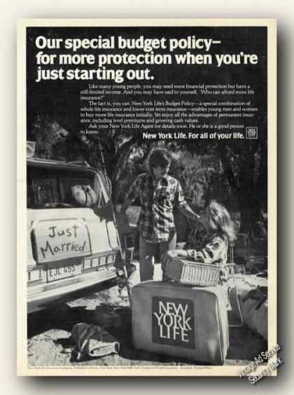 New York Life Just Starting Out Insurance (1979)