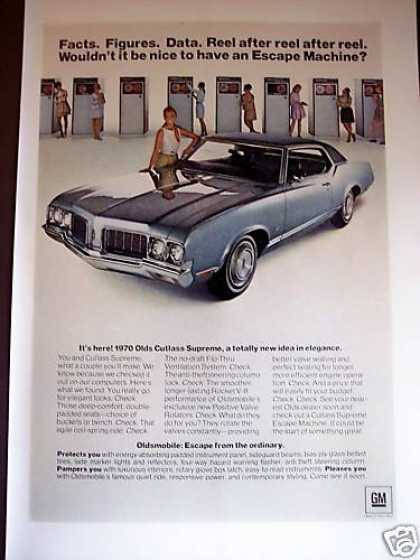 """70 Oldsmobile Cutlass Supreme Coupe (1969)"