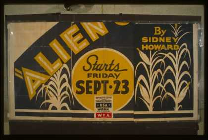 """Alien corn"" by Sidney Howard. (1938)"