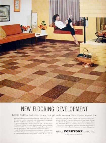 Kentile Corktone Floors (1955)
