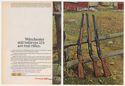 Winchester 22 Rifles Model 250 290 270 (1963)