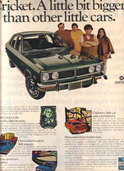 Chrysler's Plymouth (1971)