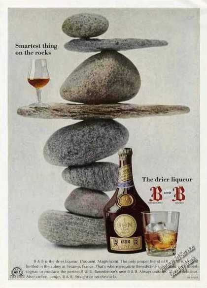 "B and B Liqueur ""Smartest Thing On the Rocks"" (1967)"