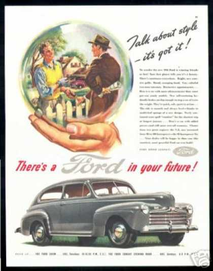 Ford, There's a Ford in your Future, Car (1946)