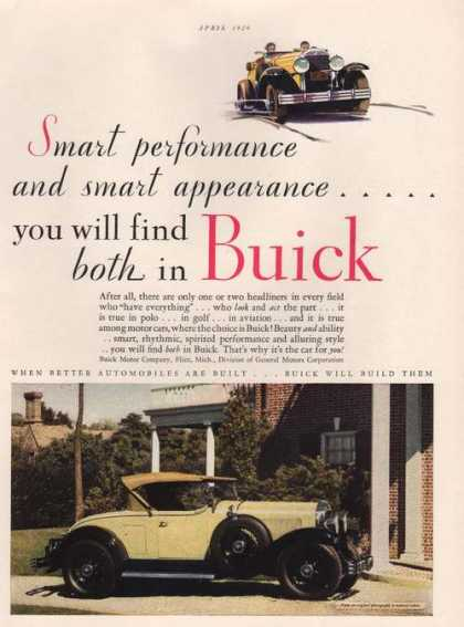 Buick Will Build Them Yellow Car (1929)