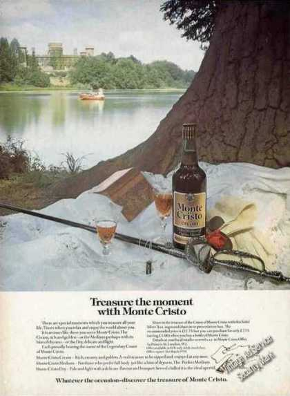 "Monte Cristo Cream Sherry ""Treasure the Moment"" (1977)"