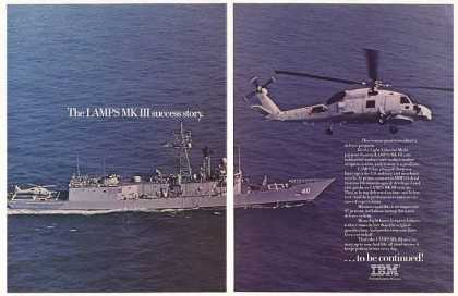 Navy LAMPS MK III Helicopter Ship IBM (1986)