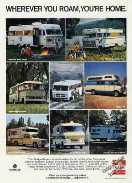 Dodge Campers/pickups (1973)