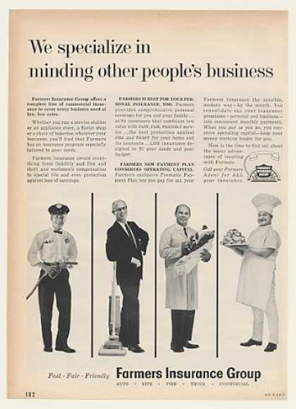 Farmers Insurance Group Minding Other Business (1962)