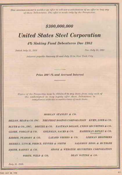 United States Steel Corporation (1958)