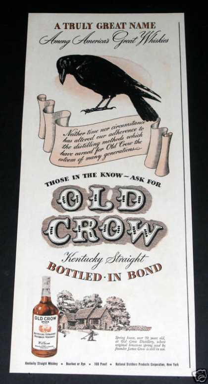 Old Crow Whiskey (1946)