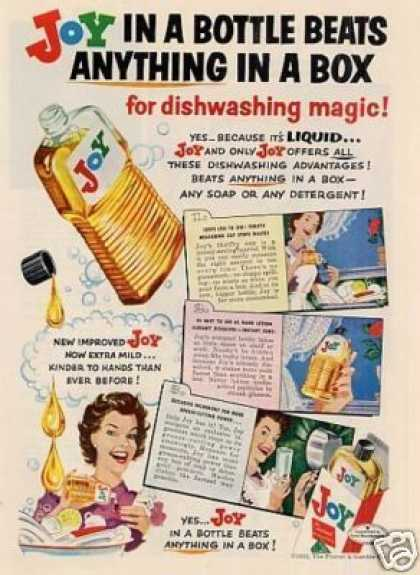 Procter & Gamble Joy Soap (1952)