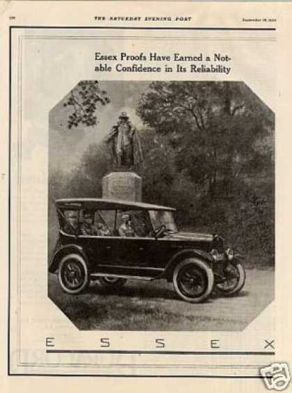 Essex Car Ad 2 Page (1921)
