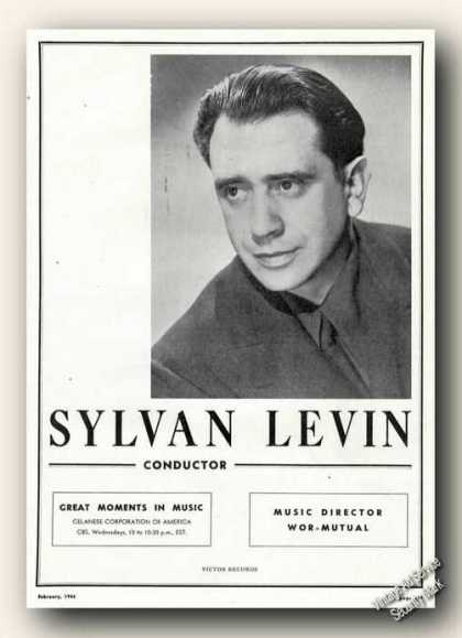 Sylvan Levin Photo Conductor Large (1946)