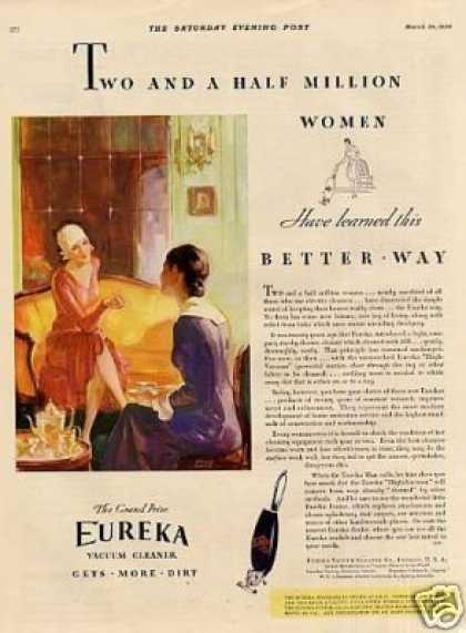 Eureka Vacuum Cleaner Color (1930)