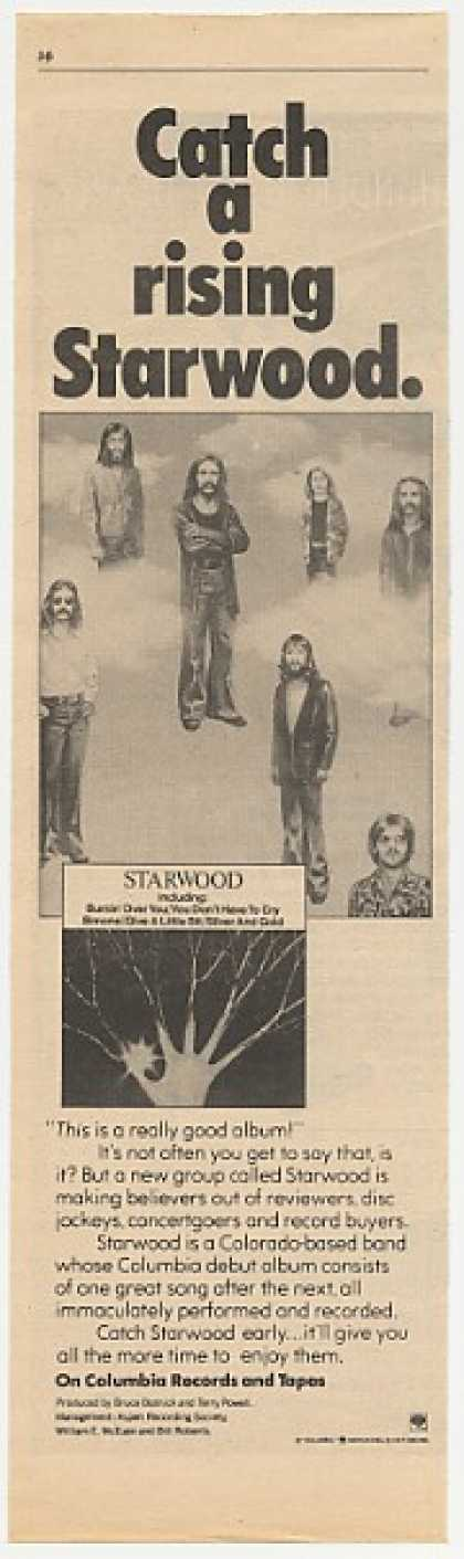 Starwood Columbia Records Debut Album Promo (1977)