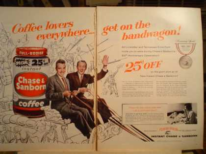 Chase Sanborn Coffee Linkletter Ford (1957)