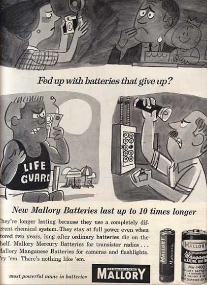 Mallory's Different Chemical System (1962)