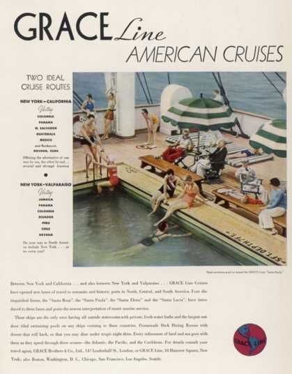 for Grace Line Cruises