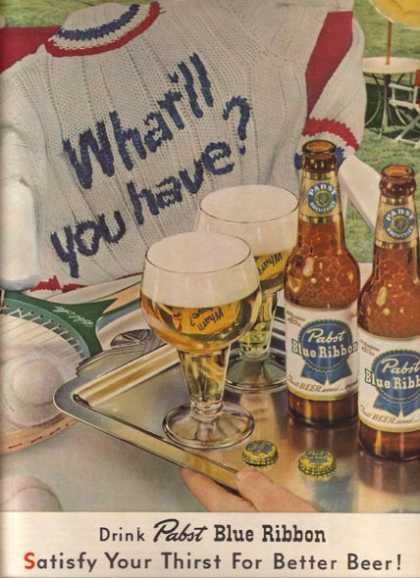 Pabst Beer (1952)