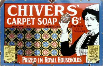 Chivers' Carpet Soap