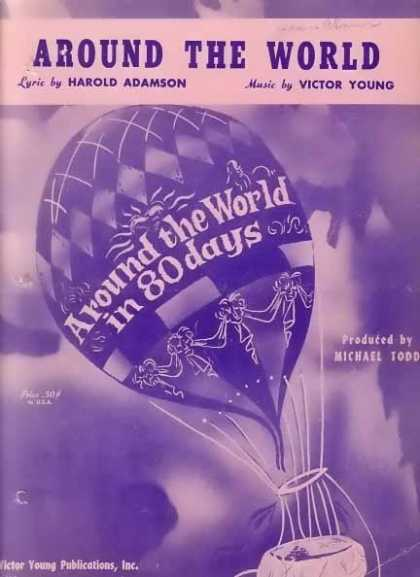 Around The World Movie Sheet Music – Sold (1956)