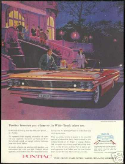 Pontiac Bonneville Convertible AF VK Art Car (1960)