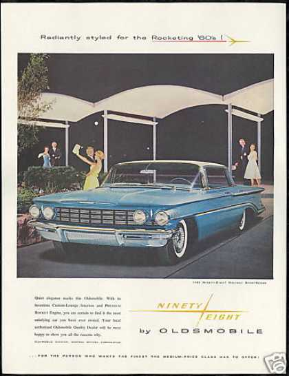 Oldsmobile 98 Ninety-Eight Holiday 4 Dr Photo (1960)
