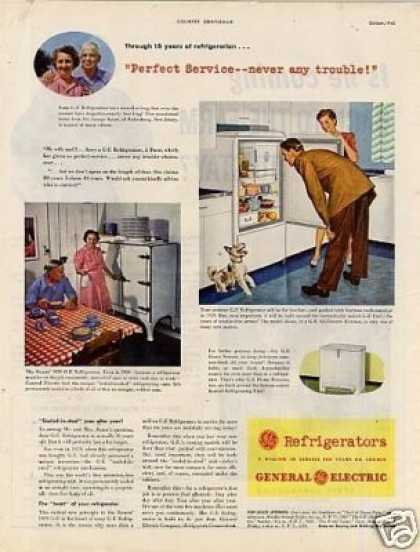 General Electric Refrigerator (1945)