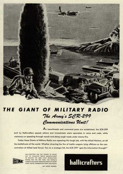 Hallicrafters Company's Radio (SCR-299 Communications Unit) – The Giant of Military Radio (1944)