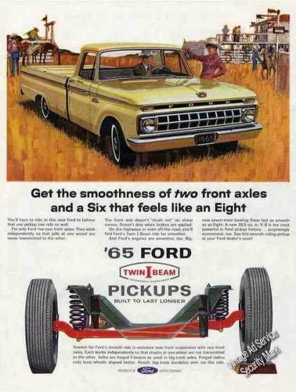 "Ford Pickups ""Twin I Beams"" Collectible (1965)"