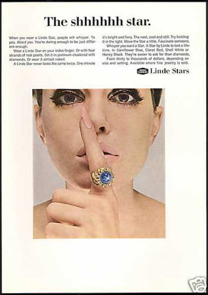 Linde Star Ring Jewelry Photo Union Carbide (1967)