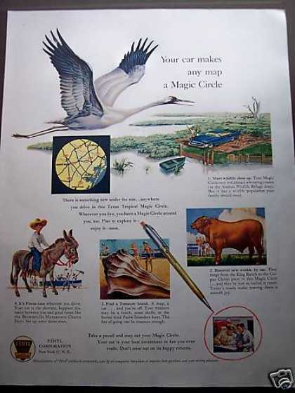 Great Huron Bird Art Ethyl Magic Circle (1958)