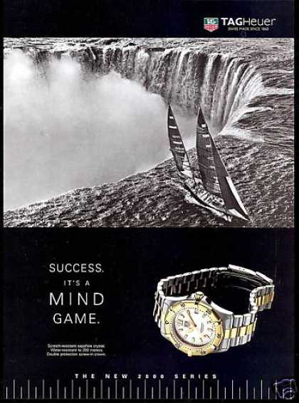 Tagheuer Watch Sailboat Niagara Falls Tag Heuer (1996)