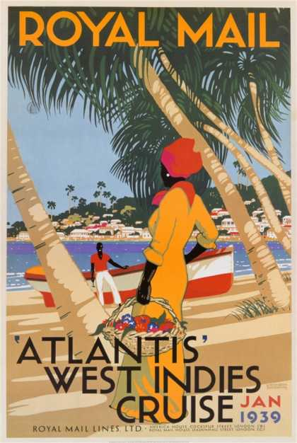 Atlantis&#8217; West Indies Cruise (1939)