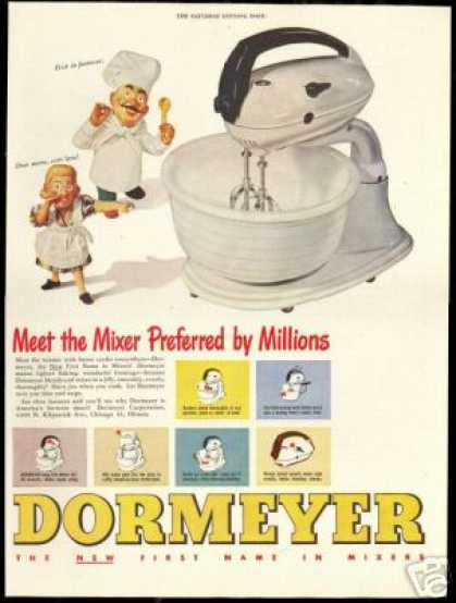 Dormeyer Kitchen Mixer Americas Favorite (1948)