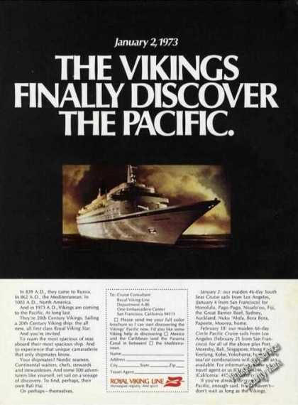 Vikings Finally Discover Pacific Royal Viking (1972)