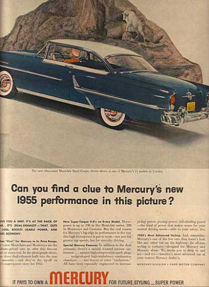 Ford's Mercury (1955)