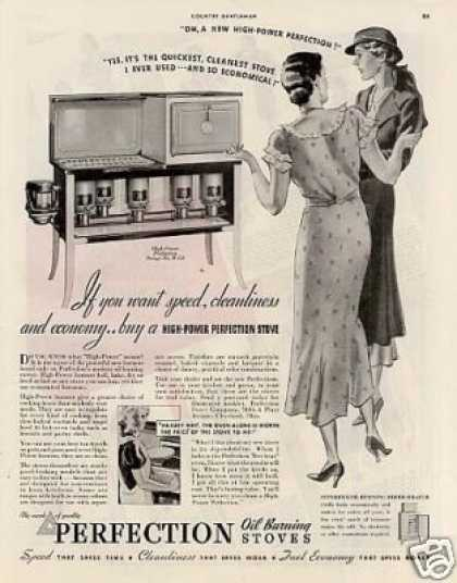 Perfection Oil Stove (1934)