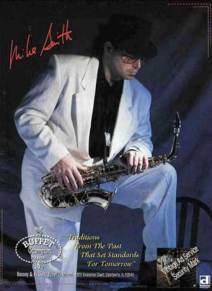 Nice Mike Smith Photo Saxophone Music (1994)