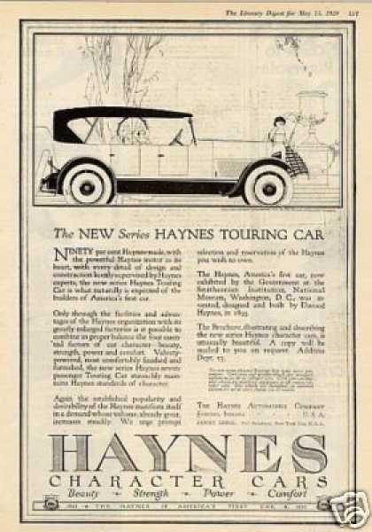 Haynes Touring Car (1920)