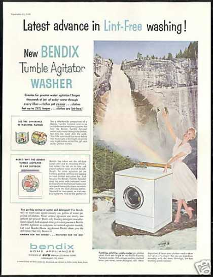Bendix Agitator Washing Machine Waterfall (1956)
