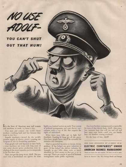 Electric Companies With Adolf (1942)