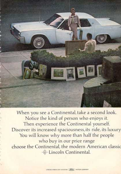 Ford Lincoln Continental Suicide Doors (1964)