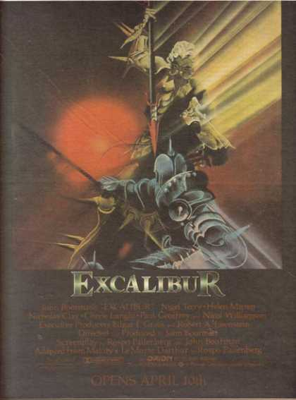 Excalibur (Nigel Terry and Helen Mirren) (1981)
